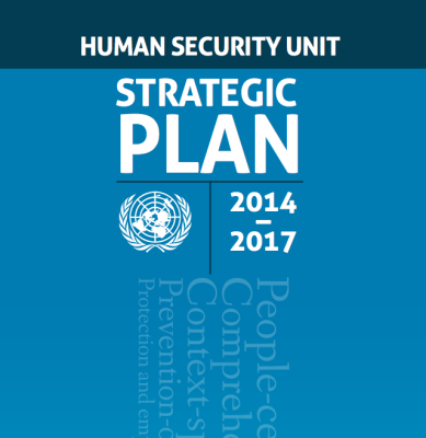 Human Security Unit Strategic Plan 2014-2017